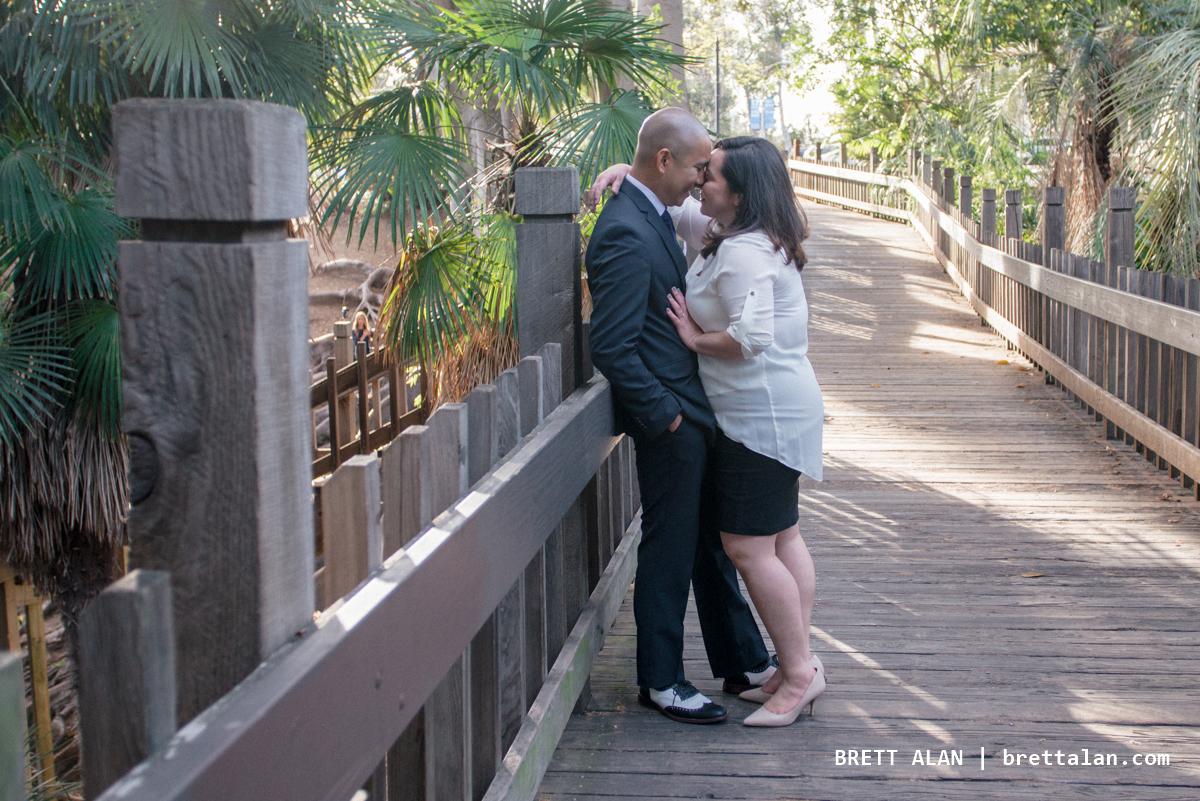 Balboa Park Engagement