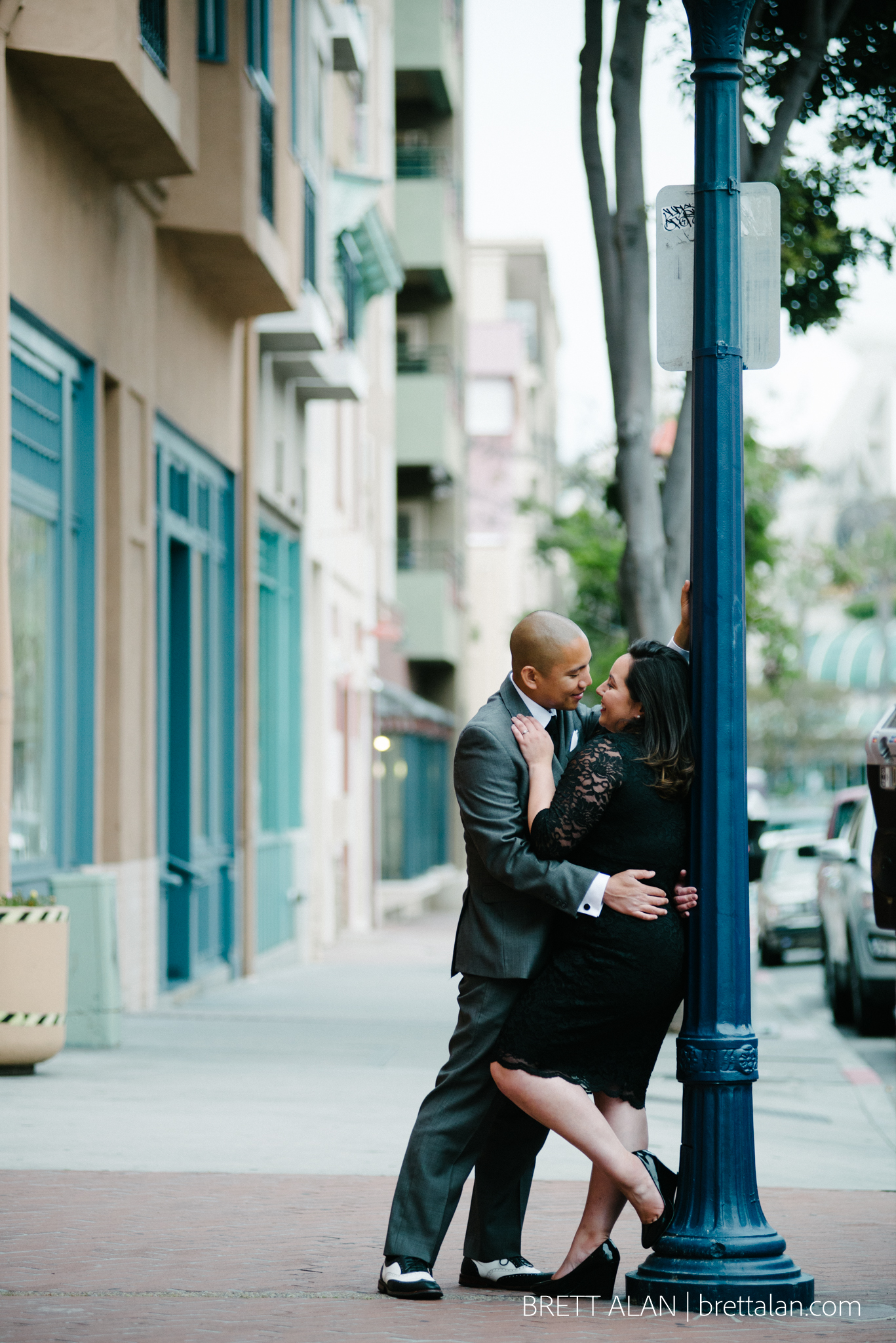 Downtown San Diego Engagement Photography