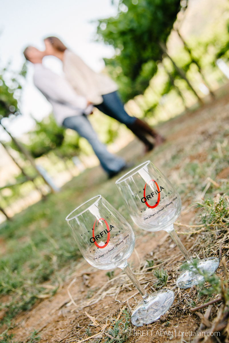 Orfila Winery Engagement Photography
