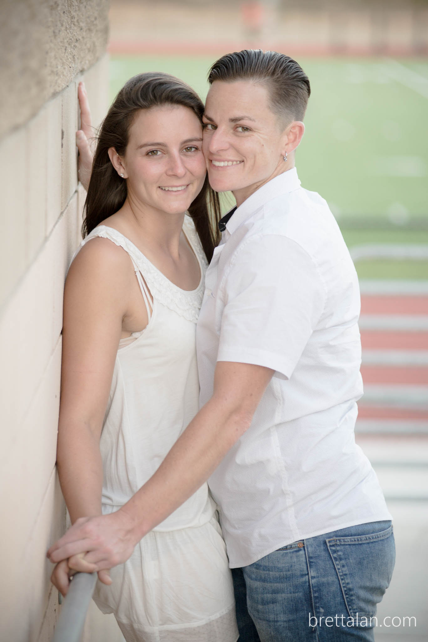 lesbian engagement photo session