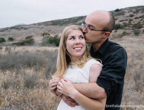 Missy & Troy – Engagement Pictures San Diego Mission Trails Park
