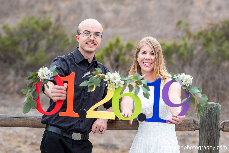 mission trails wedding engagement pictures