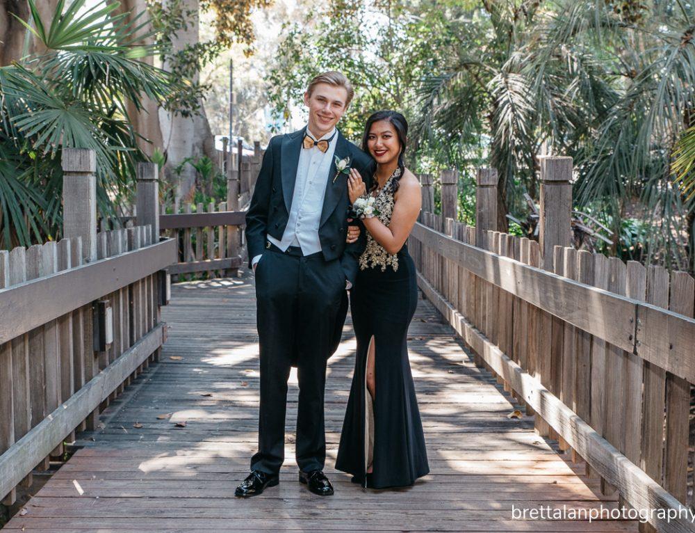 Sharmaine & William – San Diego Balboa Park Prom Pictures