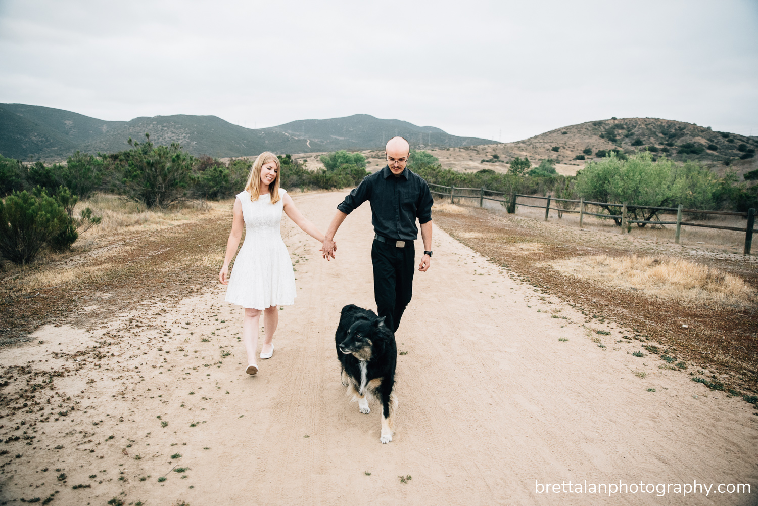 mission trails wedding engagement pictures
