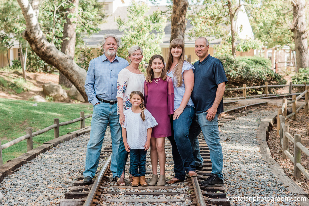 old poway park family photo