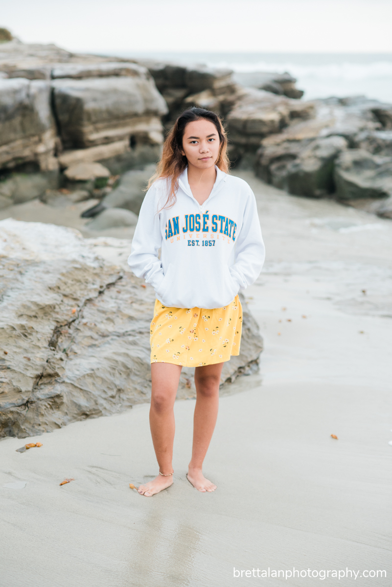windansea beach high school senior