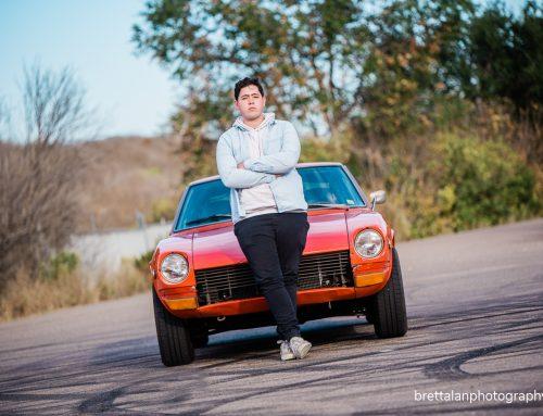 John and his 1972 Datsun 240z [Class of 2020]